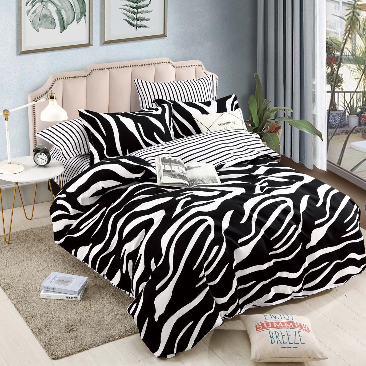 lenjerie cu elastic zebra