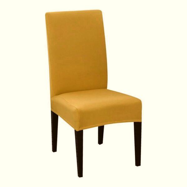 huse de scaun mustar