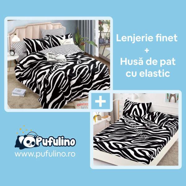 set-lenjerie-pat-si-husa-din-finet-zebra